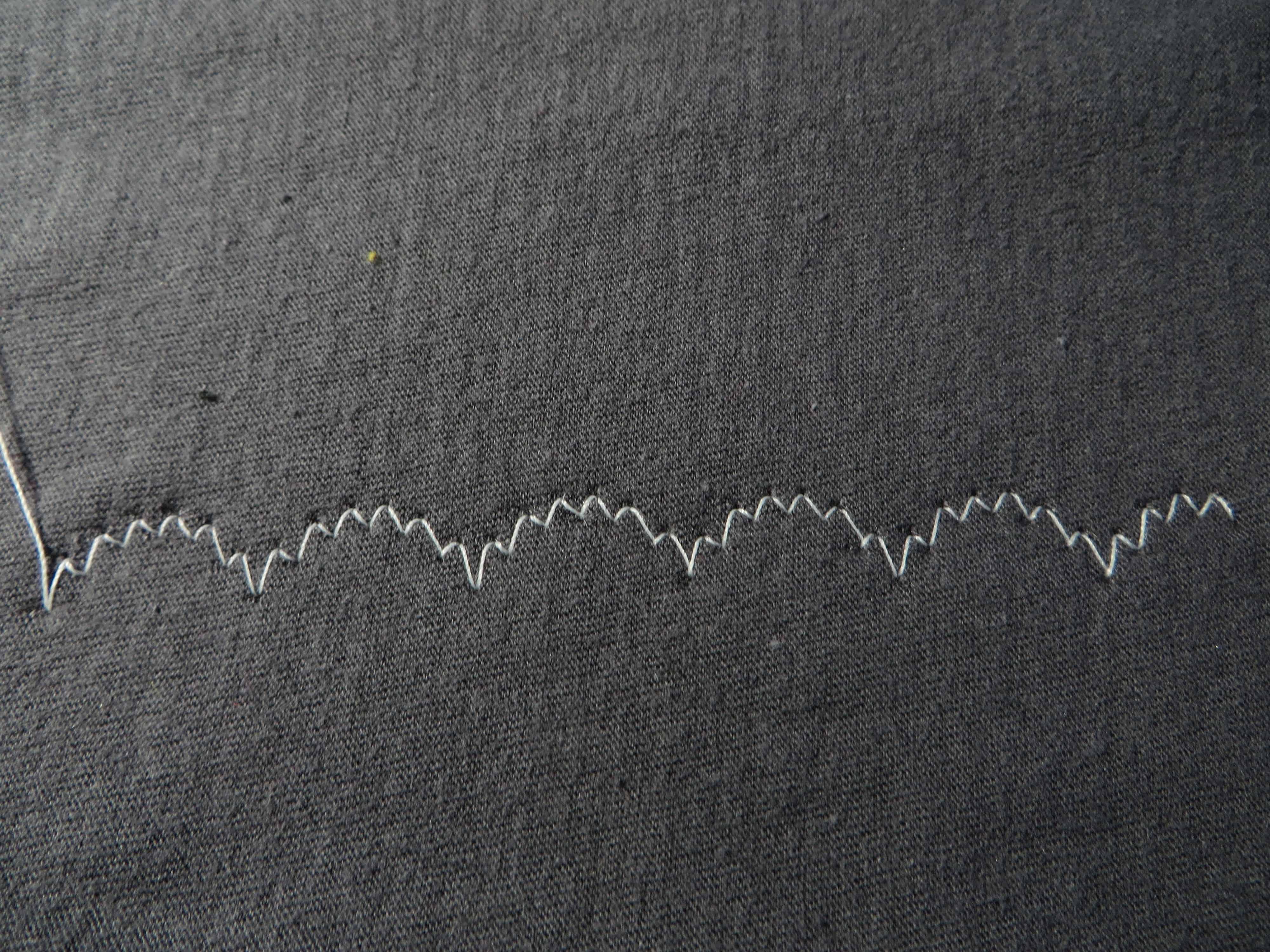 Small scallop zigzag